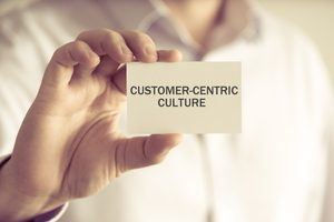 customer centric culture card