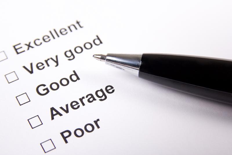 Sheet with customer feedback