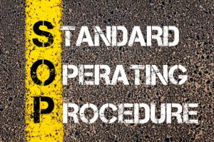 writing with standard operating procedure